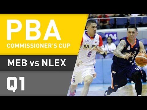 MERALCO VS. NLEX - Q1 | Commissioners Cup 2016