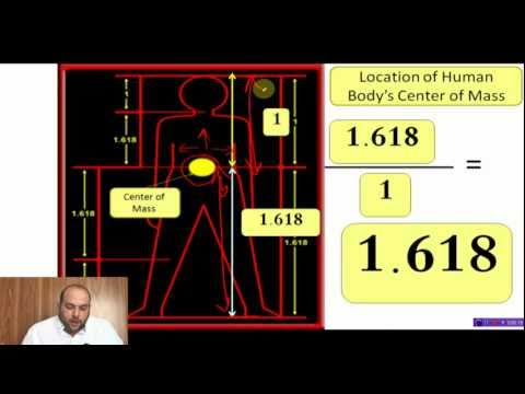 Islam miracle, The Golden Ratio in The Quran and Creation