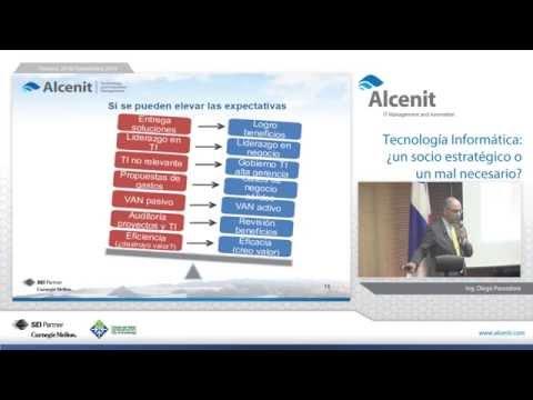 Conferencia: Tecnologia Informatica, ¿un socio estratégico o un mal necesario?