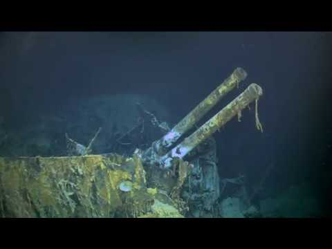 Wreckage of WWII Italian Destroyer Artigliere Discovered by R/V Petrel