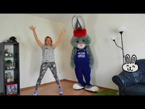 Lektionen der Tänze für Kinder || Tanz mit Hase - Online Tanzschule || Lektion 1
