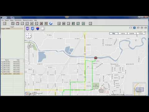 ITrail GPS Software - Demonstration