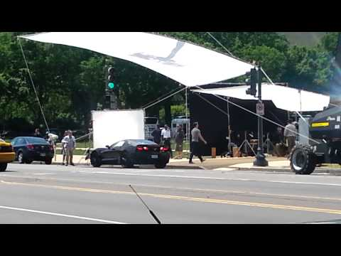 Chris Evans Captain America Winter Soldier Filming