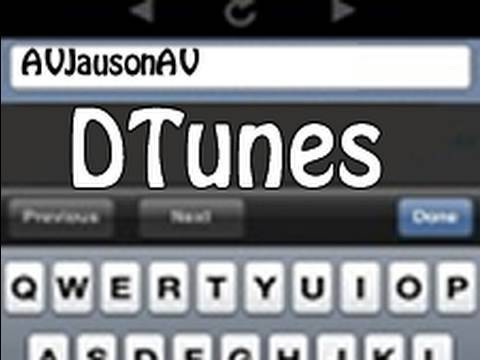 DTunes Review for iPhone 3G / iPod Touch