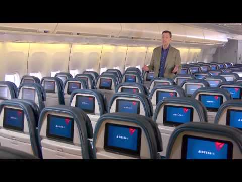 Delta Airlines: On Board Cabin Tour