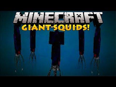 Minecraft Mods Kraken Giant