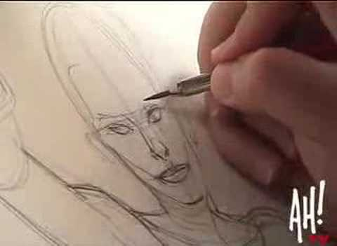Adam Hughes - Anatomy of a sketch, Pt1 - The Idea