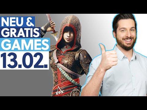 KOSTENLOS Assassin's Creed & drei weitere Spiele - Neu & Gratis-Games