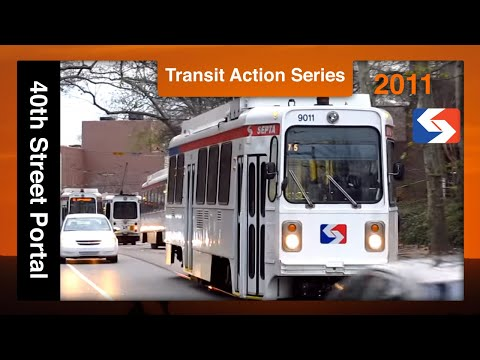 SEPTA Action Series: 40th Street Portal Trolley Jollies