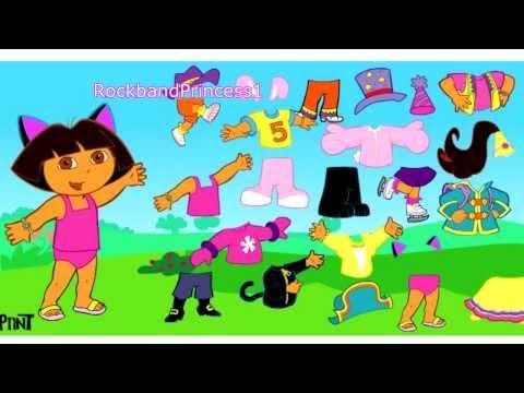 Dora Dress Up Games Online Free For Girls Dora The Explorer Dress Up Game