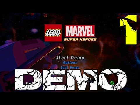 Lego Marvel Super Heroes Demo Gameplay Walkthrough Part 1 - Stuck In The Sand Level