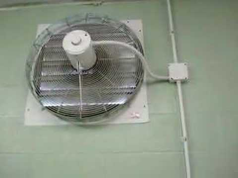 24 Quot Dayton Exhaust Fan Youtube