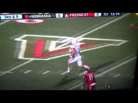 Westerkamp VS Fresno St 2 catches
