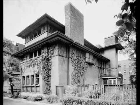 Frank lloyd Wright's Isidore H. Heller House, Hyde Park Chicago
