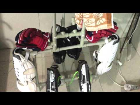 Вешалка для хоккейной формы