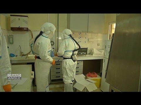 L'épidémie de fièvre Ebola en Guinée - 12/04