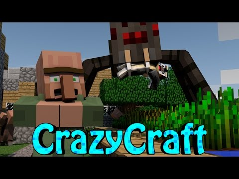 Minecraft | CrazyCraft 2.0 - OreSpawn Modded Survival Ep 143 -