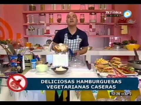 Recetas sin carnes: Show de hamburguesas vegetarianas