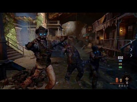 New Buried Zombies Gameplay! Black Ops 2 Vengeance DLC Map (Call of Duty BO2 HD)