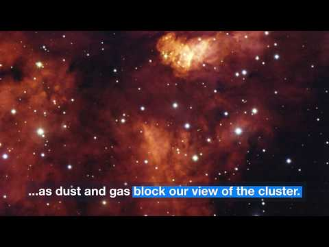 Astronomy: A Closer Look At Star cluster RCW 38
