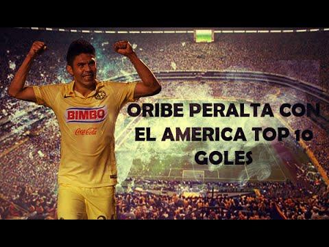 Oribe Peralta Con El America  Top 10 De Goles
