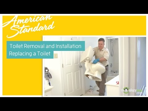 Toilet Removal and Installation - Replacing a toilet