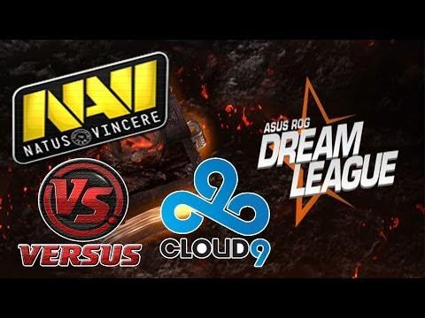 NaVi vs C9 (10.05.2014) ASUS ROG DREAMLEAGUE SEASON 1 Dota 2 RUS