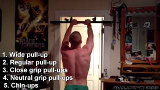 5x5 Amazing pull-up workout for beginners 100 Pull-ups!