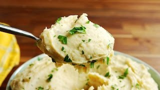 Roasted Garlic Mashed Potatoes | Delish