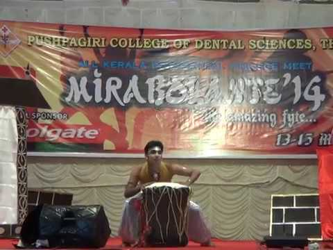 Thira Nurayum Dance Performance By Dr.bibin Babu video
