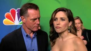CHICAGO P.D.: Jason Beghe & Sophia Bush NBC Upfronts TV Interview