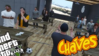SEU MADRUGA PROFESSOR! - GTA V Chaves