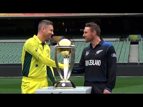 2015 WC FINAL: New Zealand vs Australia - A thriller