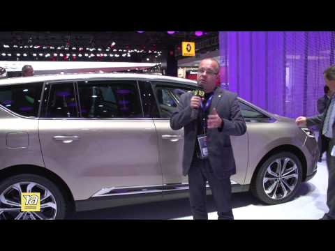Обзор нового Renault Espace! Репортаж с Paris Motor Show 2014