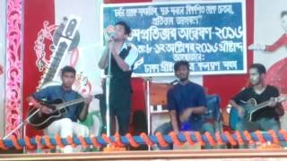 Lijohn live @DCCKS cultural night. Bangla Love Mashup ;)