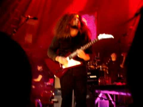 Claudio Sanchez Guitar & theramin solo NYC Neverender night III