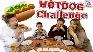 HOTDOG Challenge | Ultimative UNO Version | TipTapTube