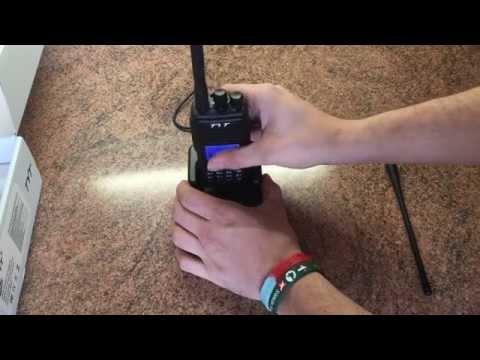 Tytera TYT MD-380 DMR Digital Radio Unboxing