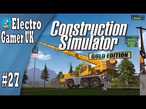 Construction Simulator 2015   Sports Park Lighting   Mobile Crane   Part 27