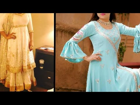 Best partwear designer dresses//New Hand work suits