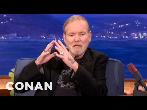 Gregg Allman And President Jimmy Carter Are Tight! - CONAN on TBS