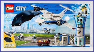 UNBOXING LEGO 60210 City Sky Police Air Base Construction Toy