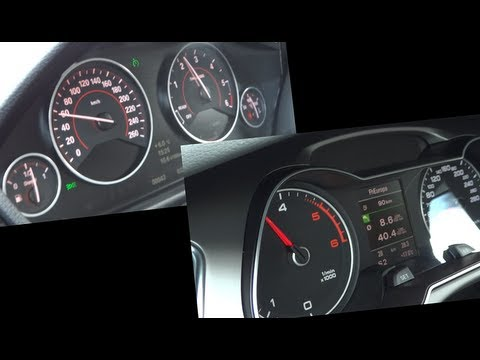 Audi A4 2.0TDi Facelift vs. BMW 320d (F30) - 1080p FULL HD