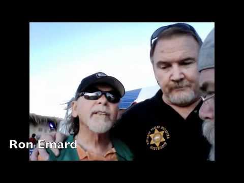 Marv Crist and Ron Emard Talk Sheriff Boosters @ AV FAIR