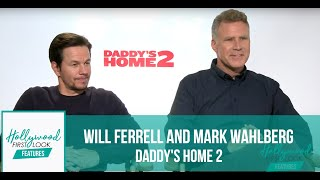 Will Ferrell and Mark Wahlberg HILARIOUS interview for DADDY'S HOME 2 (2017)