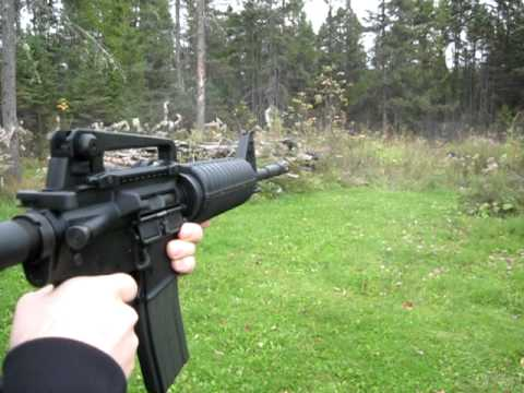 VFC M4 GBBR - test in cold temperature