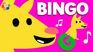 Bingo Song  | Nursery Rhymes for Children with lyrics |  BabyFirst Best Kids songs