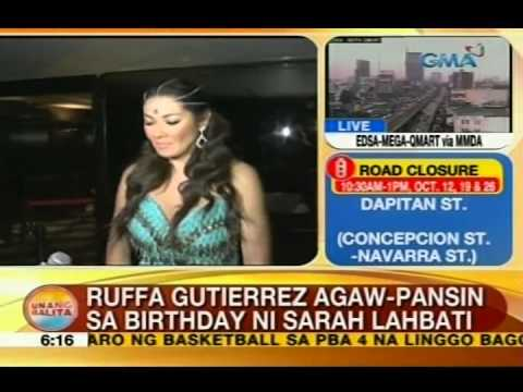 UB: Ruffa Gutierrez, agaw-pansin sa birthday party ni Sarah Lahbati