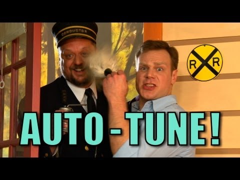Clean with Auto-Tune! - The Choo Choo Bob Show