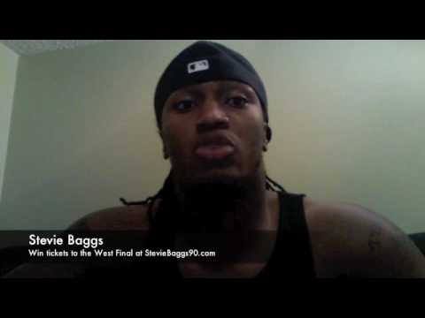 Stevie Baggs Video Blog - Win tickets to the West Final in Regina - November 17, 2009